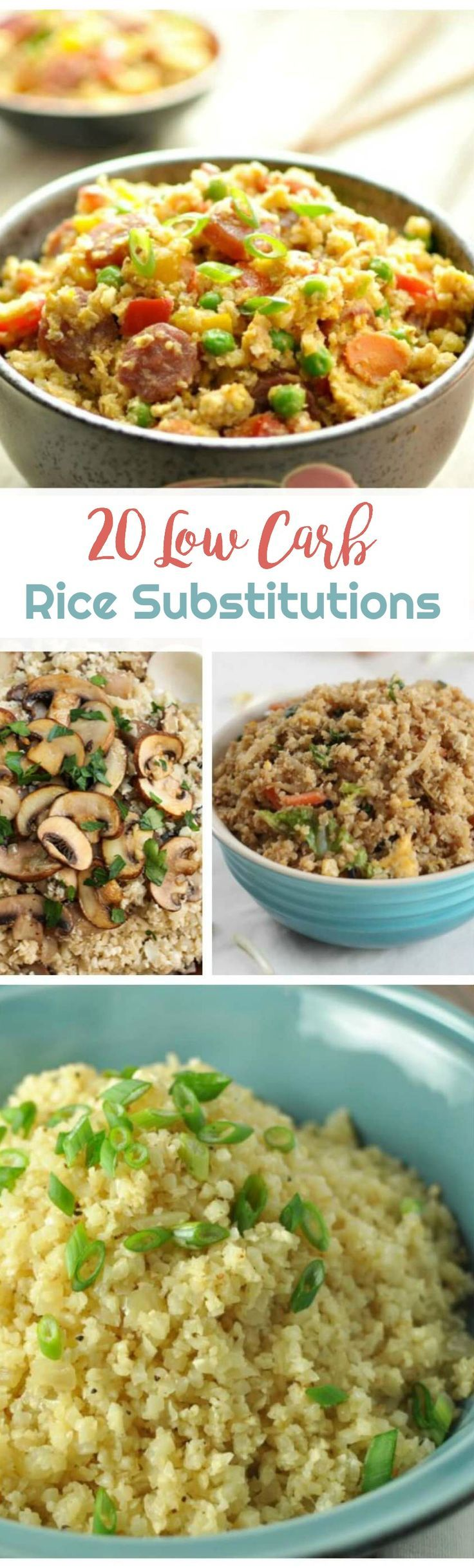 20 Low Carb Rice Substitutions