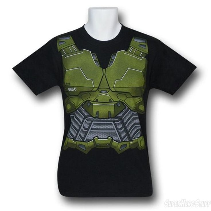 $20 plus shipping  Images of HALO Spartan Costume T-Shirt