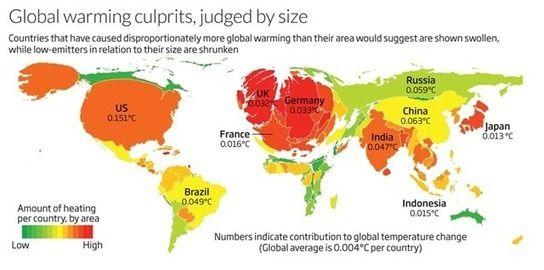 Siete países acumulan el 60% de los efectos del Calentamiento Global - Conciencia Eco