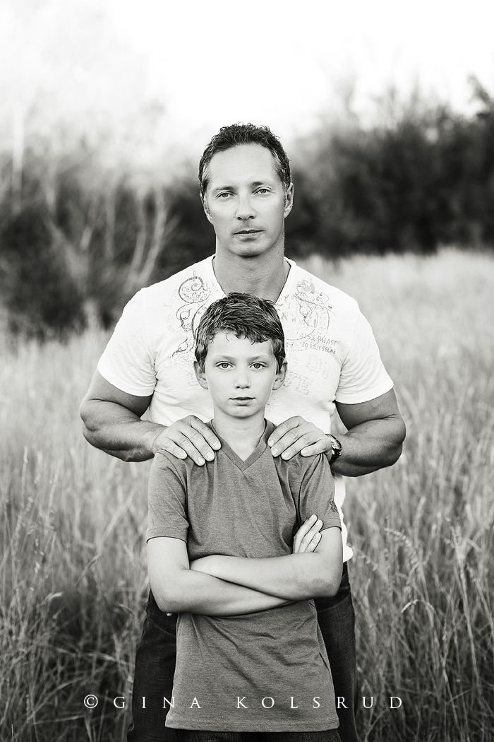 Gina Kolsrud - love the father son pose