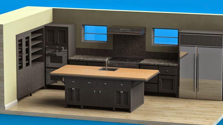 markas studio: Black Kitchen Cabinet   Kabinet Dapur Hitam
