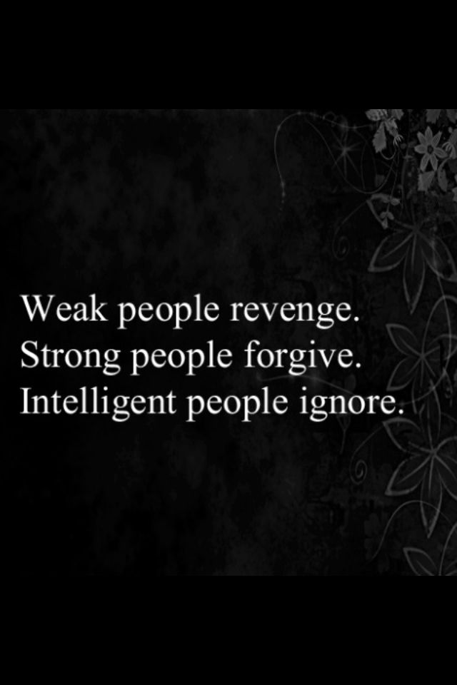 Be strong and intelligent