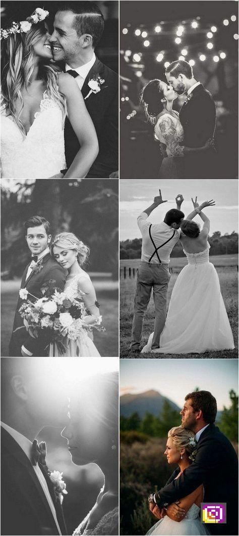 wedding Ideen für Hochzeitsfotos von Braut und Bräutigam #weddingphotos #weddingideas …