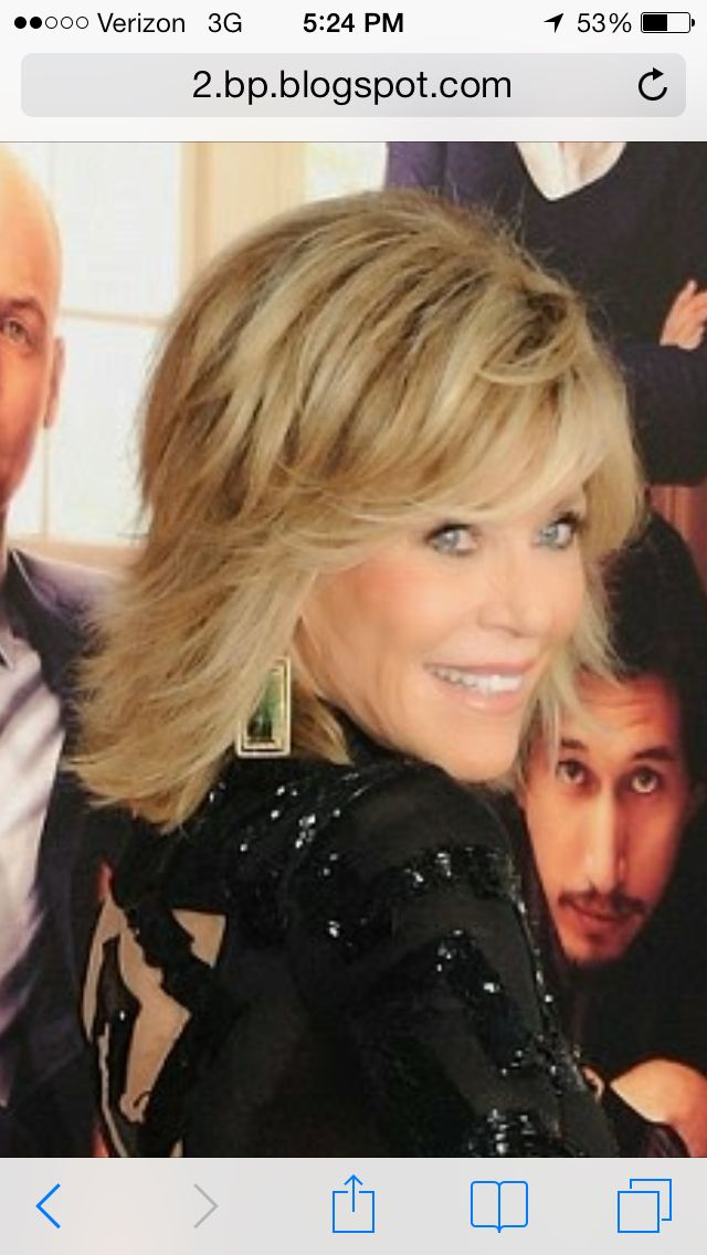 Jane Fonda 2014. Want this hair! http://scorpioscowl.tumblr.com/post/157435449850/2014-short-hair-with-bangs-short-hairstyles-2017