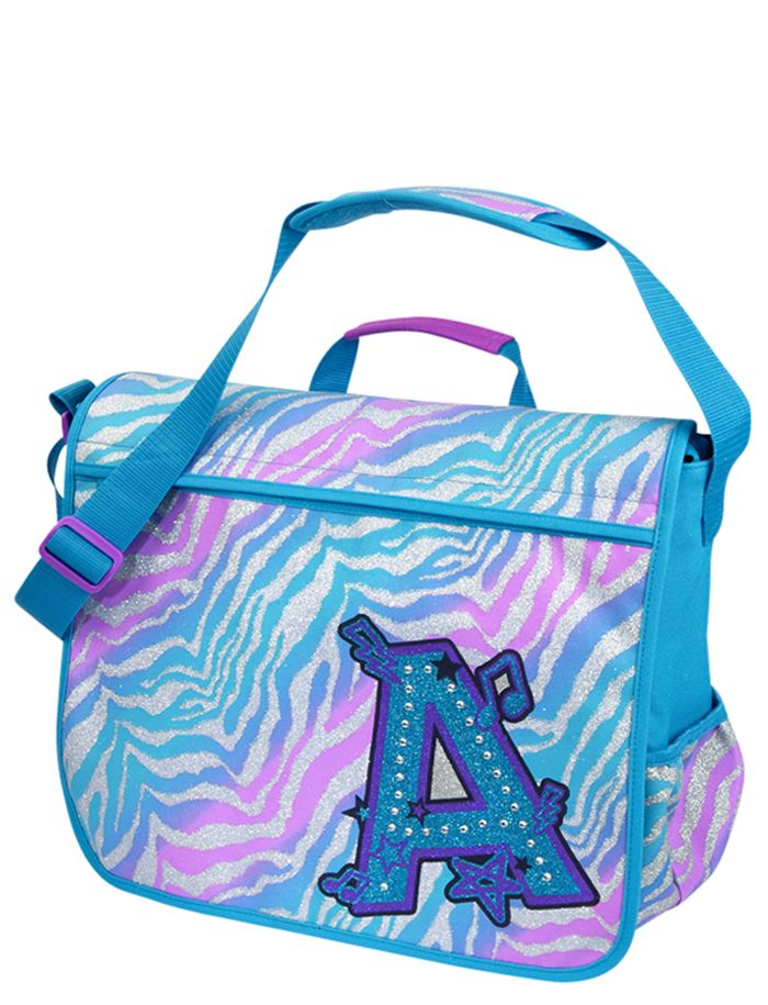 Cool Zebra Messenger Bag  494cf8d512f