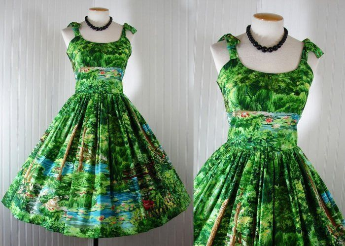 Vintage 50s Dress Bernie Dexter