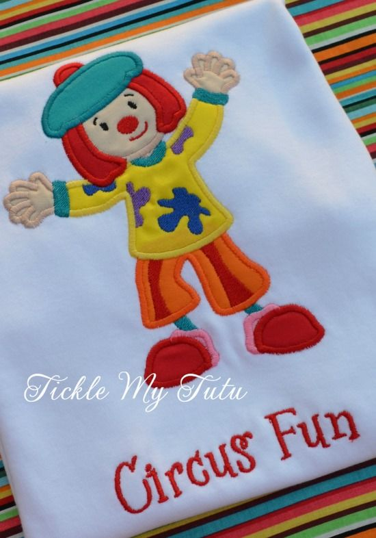 Jojo the Clown Birthday Tutu Outfit