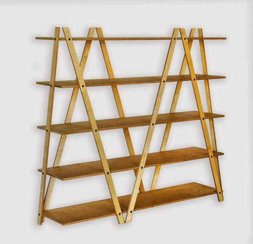 Hylla SIK-SAK - en rymlig och stabil hylla som kan användas som rumsavdelare. Modern och genomtänkt design. Designat av Raul Abner http://www.vallaste.se/sv/hyllor-kontorshyllor/2468-shelf-sik-sak-.html