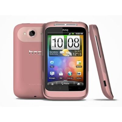 "Buy Online ""HTC A510e Wildfire S Unlocked Phone with Android 2.3.3, 5MP Camera, WiFi, GPS and Bluetooth - No Warranty - Pink"" 