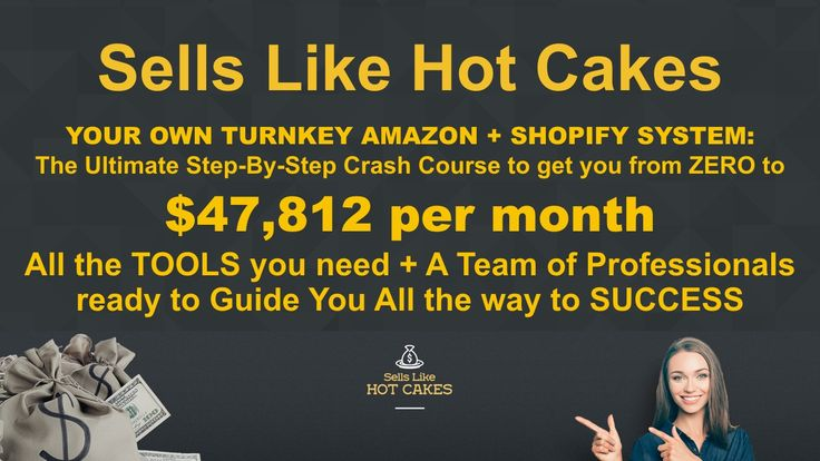Your own Turnkey Amazon + Shopify Store with the best ever training and support