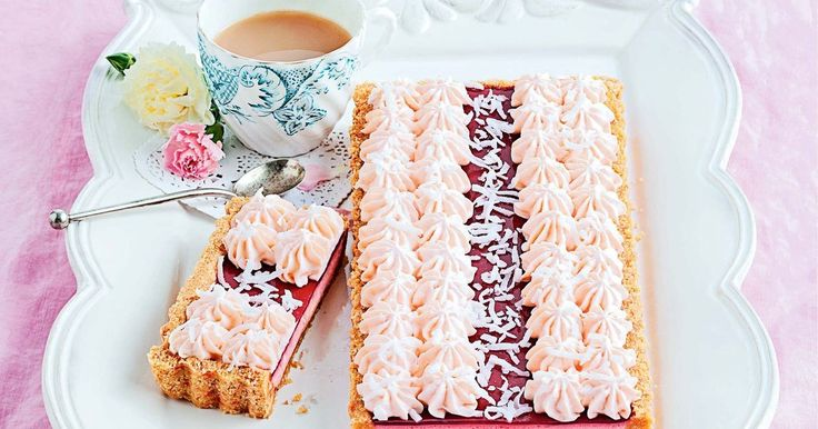 We pay tribute to an Aussie classic by transforming the iconic Arnott's Iced VoVo into a delectable tart.