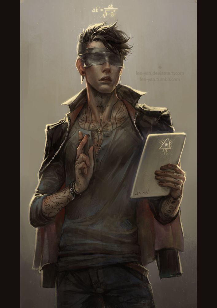 Azathoth - Um jovem com poderes sobrenaturais, obtidos a partir de sonhos inomináveis sobre criaturas alheias a simetria humana.