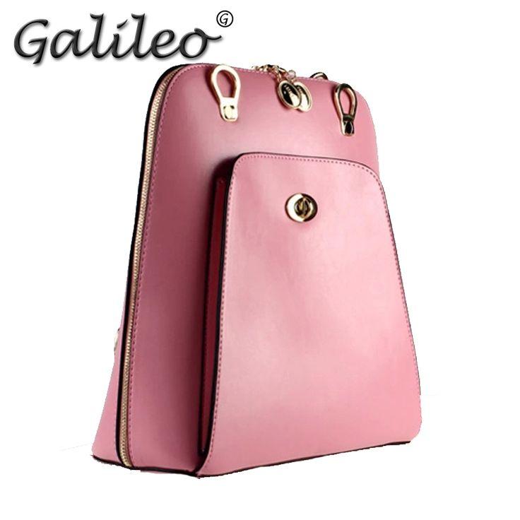 Свободного покроя женщин рюкзаки сумка искусственная кожа конфеты цвет женщин дорожные сумки рюкзак женщинам Students' сумка для ноутбука черный школьные сумки