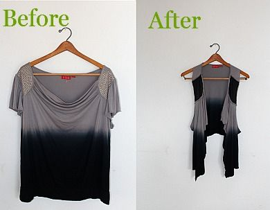 how to turn a tshirt into a skirt no sew