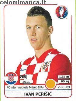 UEFA EURO 2016™ Official Sticker Album: Fronte Figurina n. 451 Ivan Perišić