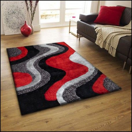 Red Shaggy Rugs for Sale