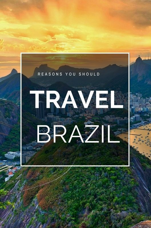 #Brazil is a captivating country, with iconic cities, legendary landscapes & ecosystems more diverse than anywhere on earth. Here are four reasons to #travel.
