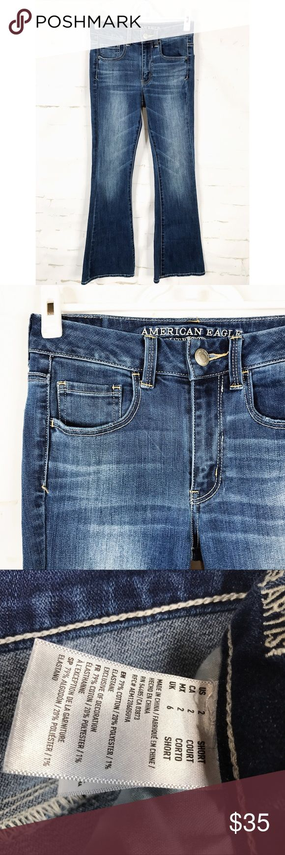 American Eagle Outfitters Super Stretch Jeans American Eagle Outfitters Super Stretch Jeans Size 2 American Eagle Outfitters Jeans Boot Cut