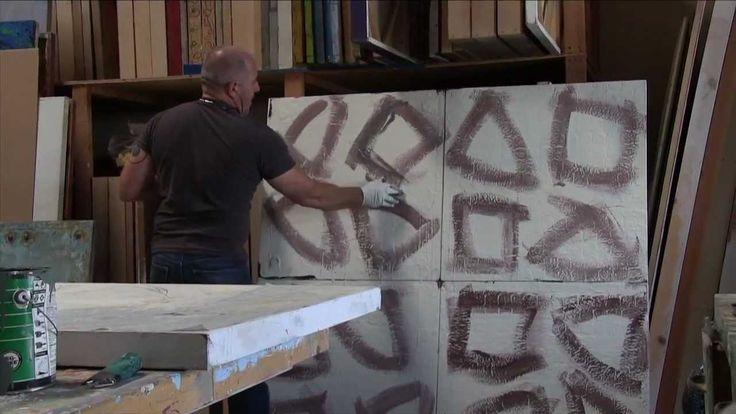 Blue Contemporary #Artist: Paul Ecke - Dale Schierholt's In Studio with Paul Ecke  www.bluecontemporary.com #contemporary #art #abstract #studioArt #interview