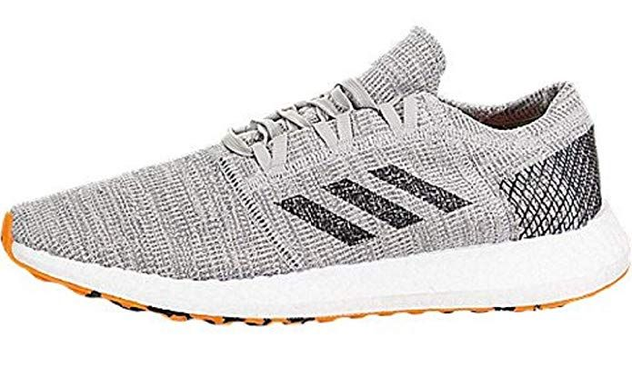 adidas Pureboost Element Gry//Black//Org Running Shoes 9