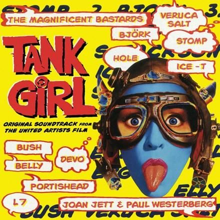 Tank Girl: Original Soundtrack from the United Artists Film - Various Artists Colored Vinyl LP April 6 2018 Pre-order