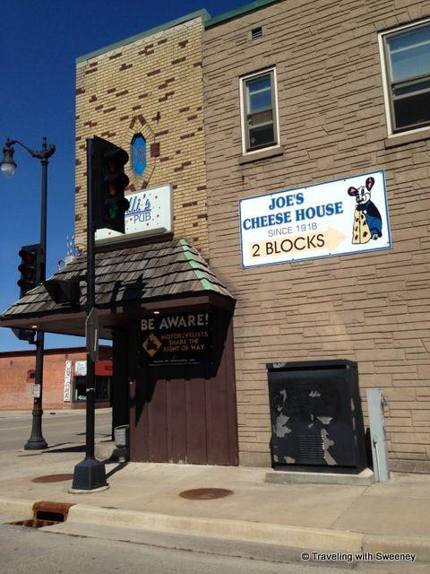"""A corner bar in Marinette, Wisconsin"""