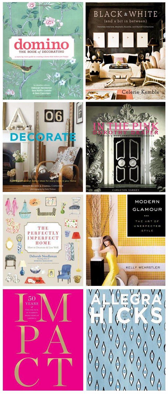 On My Shelf: My Favorite Design Books via the Hunted Interior