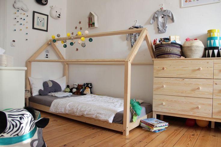 Unschlagbare Kombination: Kinderbett mit Lichterkette und Einschlafrituale... Ab ins Schlummerland, jetzt auf schicke-blicke.de