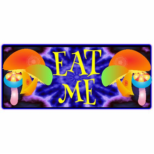 Get this Eat Me Mushroom Sticker online at the U.S. Custom Stickers Decal Store. Shop for high quality stickers at cheap prices. Buy here.
