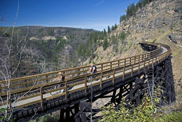 Bike Canada Rail Trail Hike or Bike Kettle Valley