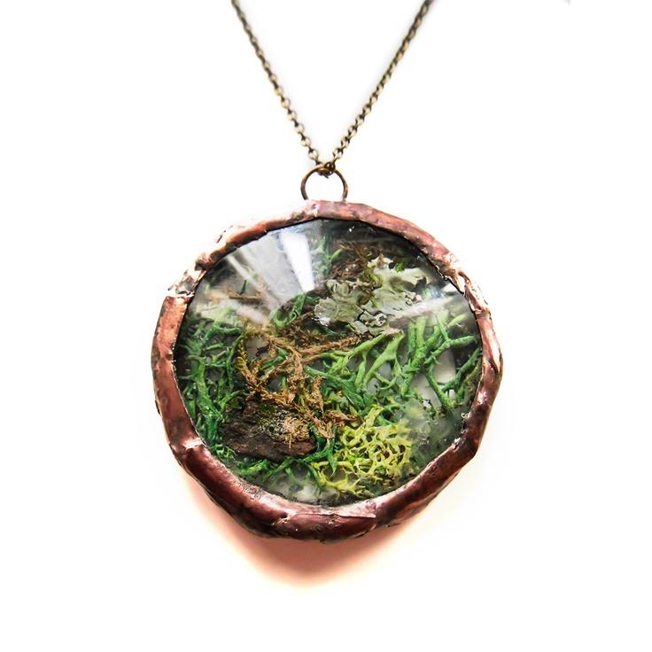 Fab.com | Moss Circle Necklace