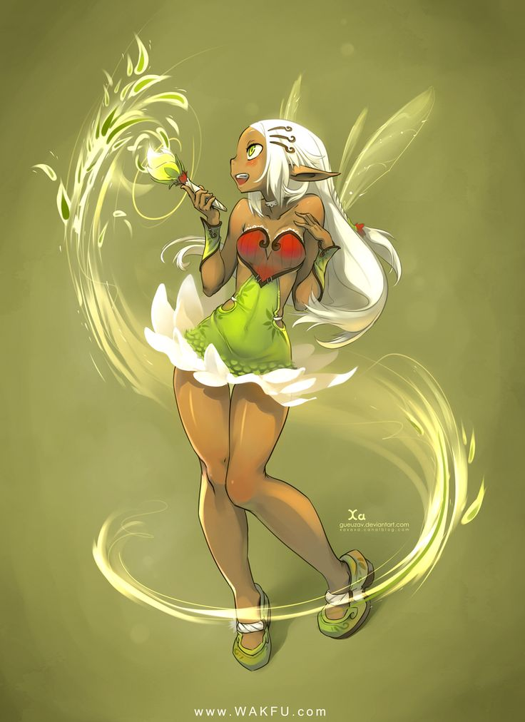 Eniripsa For wakfu mmorpg | by Gueuzav ....I do not know what that means,,,,but I bet it's really cool!