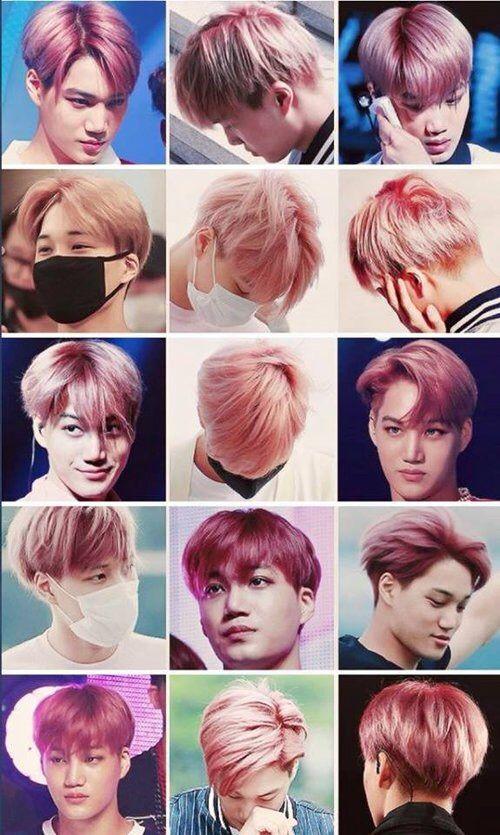 Exo Kai hair