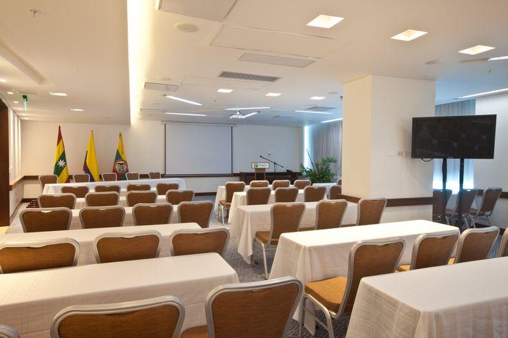 """""""Salón Morros"""" con capacidad para 130 personas es el lugar ideal para tu #Evento, #Grado, #Fiesta, Celebración, #Matrimonio #Reuniones #Eventos #Congresos #Hotel Reservas: reservations.ctghi@ihg.com"""