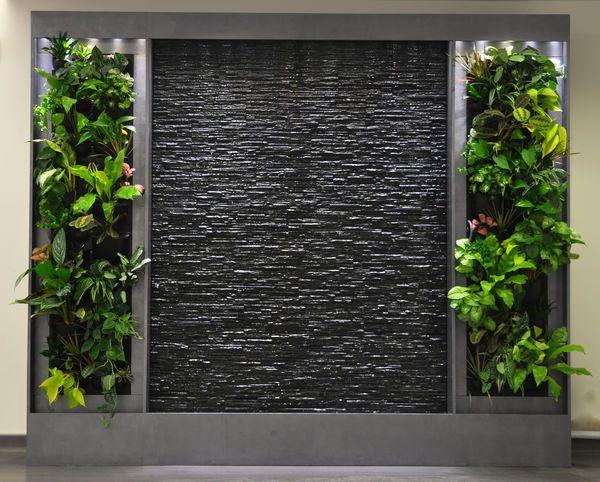 Las 25 mejores ideas sobre paredes de agua en pinterest y - Fuentes de pared de piedra ...