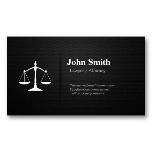 28 best images about business cards lawyers on pinterest for Best attorney business cards
