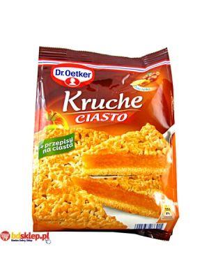DR OETKER 400g Ciasto Kruche  • łatwy i szybki przepis • doskonała baza do deserów • ciekawe przepisy na opakowaniu • prawdziwie domowy smak