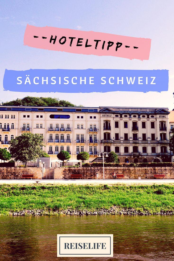 Wellness, tolles Essen und romantische Zimmer direkt an der Elbe. Unser Hoteltipp für die Sächsische Schweiz!