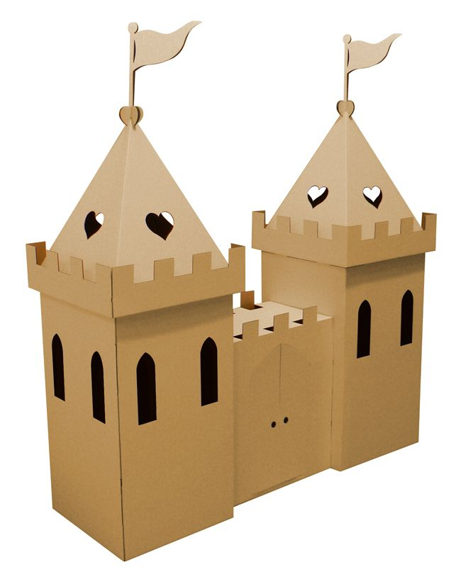 Cardboard Princess Castle Brown Buy Cardboard Castles, cardboard playhouses and room dividers from Totslots : manufacturer kideco and paperpod Educational, Environmentally Friendly, Safe Cardboard Toys for Schools, Playgroups and the home.