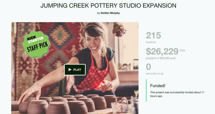 A Kickstarter Campaign that Laundromat Studios / Colleen Gentemann filmed & edited and resulted in over 100% funding! https://www.kickstarter.com/projects/1240474120/jumping-creek-pottery-studio-expansion?ref=video