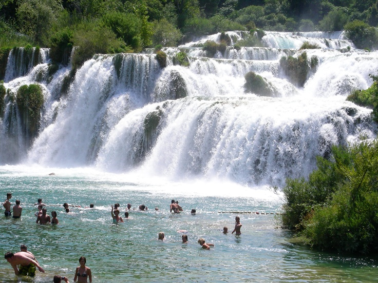 coolest national park i have ever seen--need to go exploring here at some point!  sibenik national park