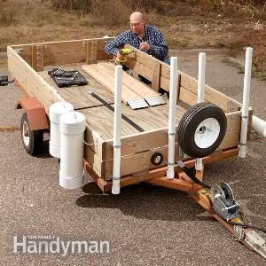If I ever get to live some place where I would need a utility trailer, mine would look just like this.