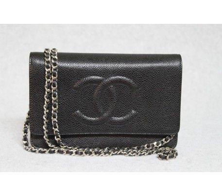 Chanel Cavair Wallet on a chain