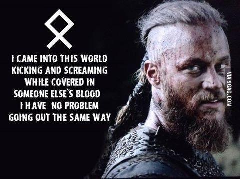 Ragnar Lothbrok first of his name - 9GAG