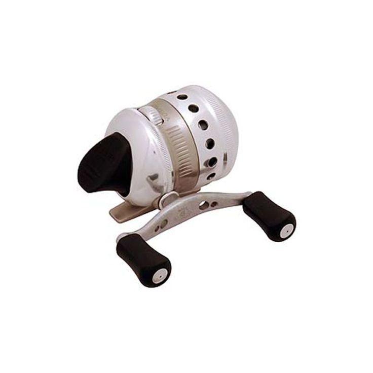 Zebco Omega Professional Spincast Reel Z03, Silver