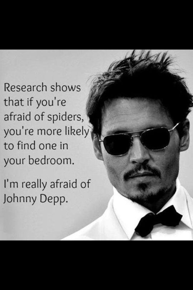Johnny Depp Phobia?
