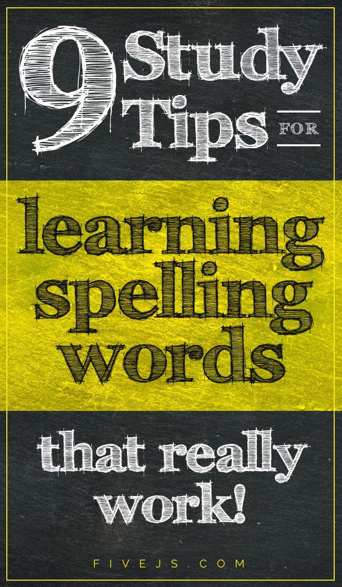 Great tips for helping kids memorize spelling words permanently! #homeschool