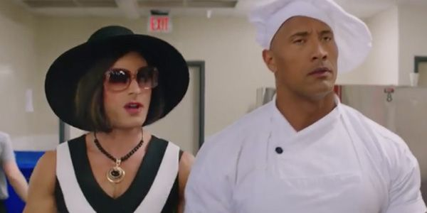 The Funny Advice The Rock Gave Zac Efron On The Set Of Baywatch