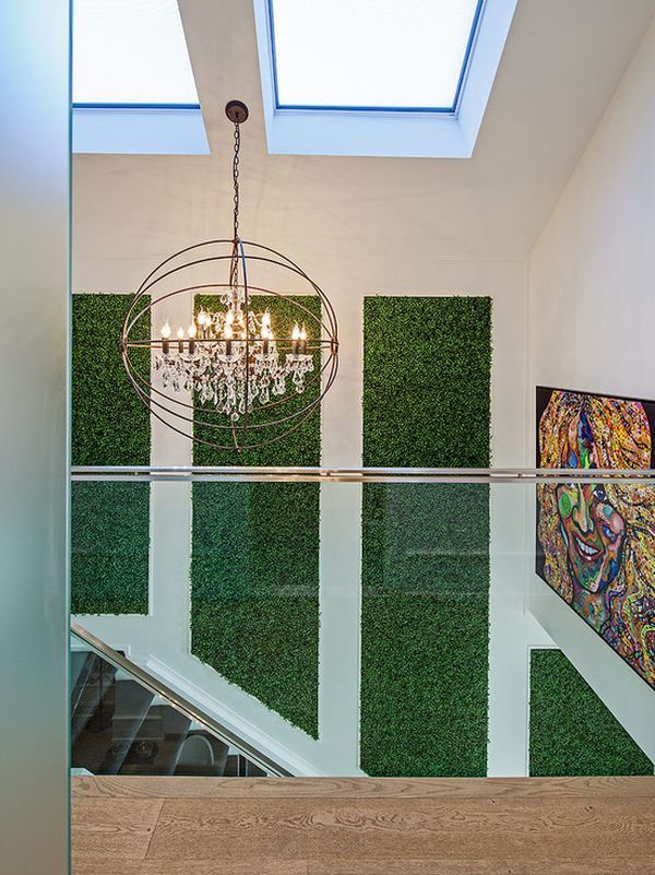 Marvelous How To Use Green Successfully In A Hallway Home Design Ideas