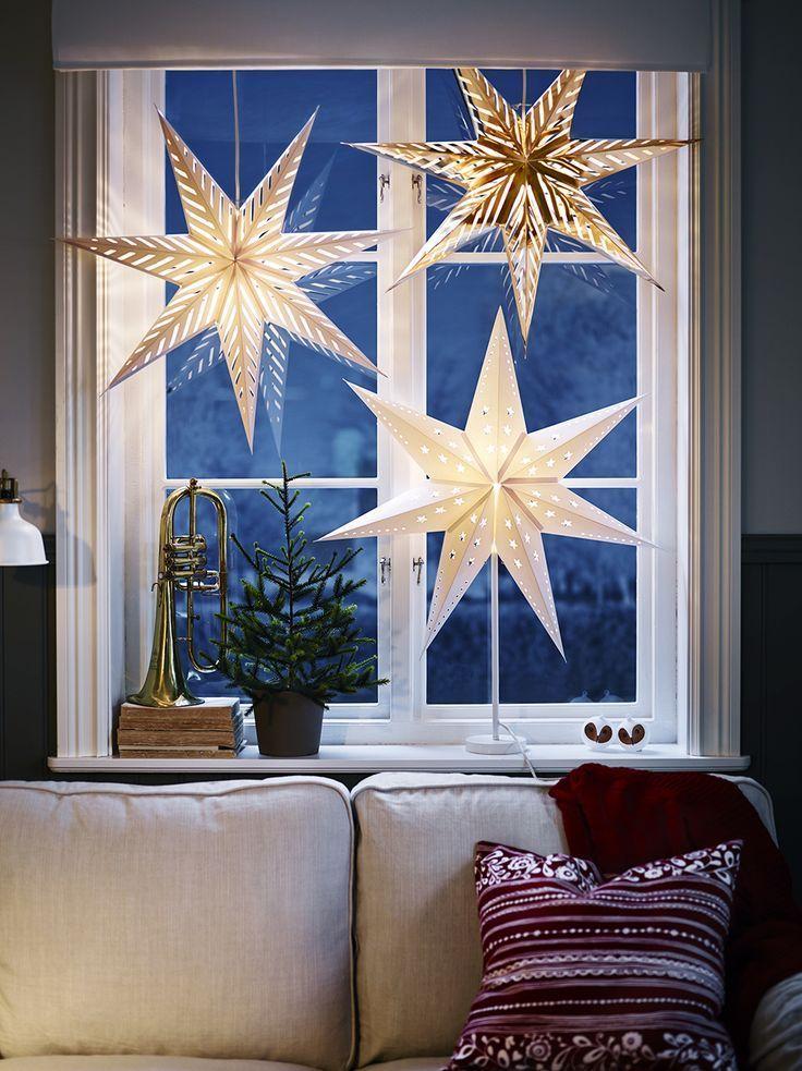 Fensterdeko hängend oder stehend: Tolle Ideen für Weihnachten